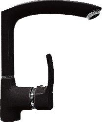 Смеситель Gran-Stone GS 4070 (Black) - общий вид