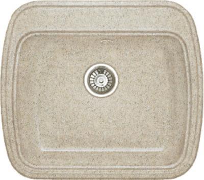 Мойка кухонная Gran-Stone GS-11 (бежевый) - общий вид