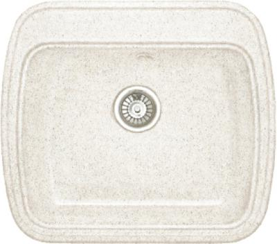 Мойка кухонная Gran-Stone GS-11 (белый) - общий вид