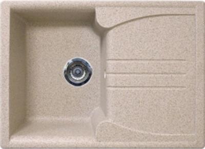 Мойка кухонная Gran-Stone GS-40S (серый) - цвет фото не соответствует действительности, смотрите следующее фото