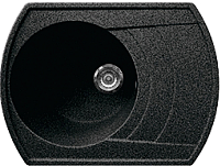 Мойка кухонная Gran-Stone GS-65 (Black) -