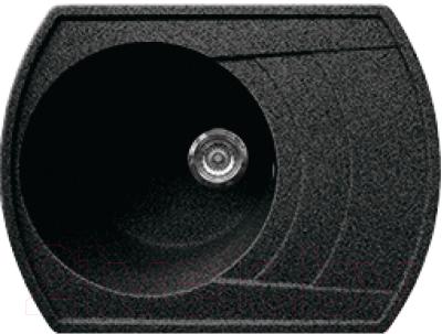 Мойка кухонная Gran-Stone GS-65 (Black)