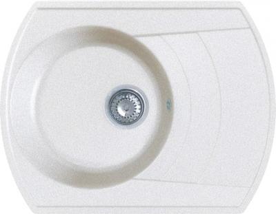 Мойка кухонная Gran-Stone GS-65 (White) - общий вид