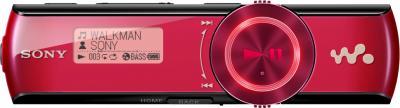 USB-плеер Sony NWZ-B173FR (Red) - общий вид