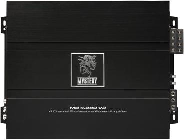 Автомобильный усилитель Mystery MB-4.280 V2 - общий вид