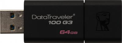 Usb flash накопитель Kingston DataTraveler 100 G3 64GB (DT100G3/64GB) - общий вид