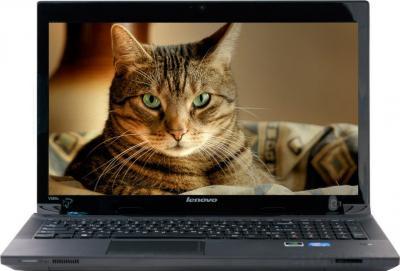 Ноутбук Lenovo IdeaPad V580C (59381129) - фронтальный вид