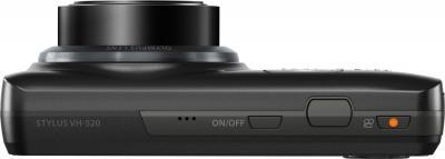 Компактный фотоаппарат Olympus VH-520 (черный) - вид сверху