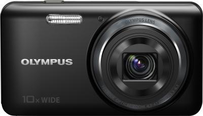 Компактный фотоаппарат Olympus VH-520 (черный) - вид спереди