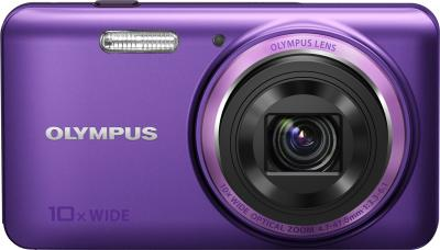 Компактный фотоаппарат Olympus VH-520 (фиолетовый) - вид спереди