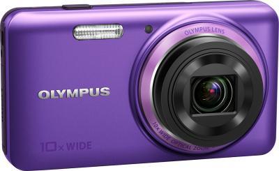 Компактный фотоаппарат Olympus VH-520 (фиолетовый) - общий вид