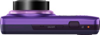 Компактный фотоаппарат Olympus VH-520 (фиолетовый) - вид сверху