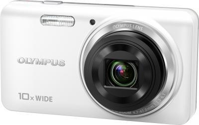 Компактный фотоаппарат Olympus VH-520 (белый) - общий вид