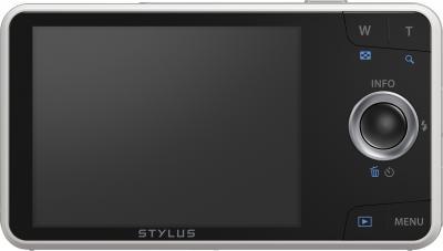 Компактный фотоаппарат Olympus VH-520 (белый) - вид сзади