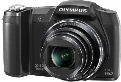 Компактный фотоаппарат Olympus SZ-16 (Black) - общий вид