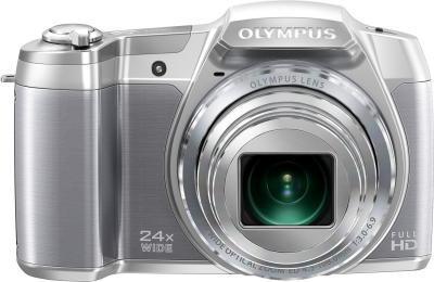Компактный фотоаппарат Olympus SZ-16 (Silver) - вид спереди