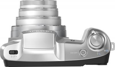 Компактный фотоаппарат Olympus SZ-16 (Silver) - вид сверху