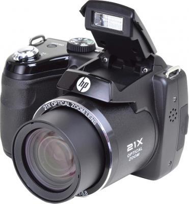 Компактный фотоаппарат HP D3000 (Bridge) - общий вид