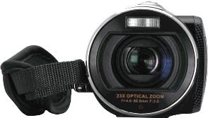 Видеокамера HP t500 Digital Camcorder - вид спереди