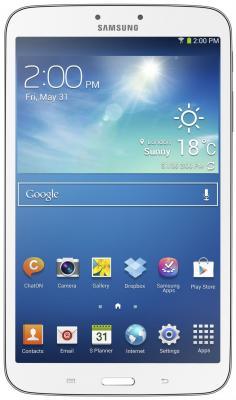 Планшет Samsung Galaxy Tab 3 8.0 16GB 3G White SM-T311 (SM-T3110ZWASER) - фронтальный вид