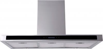 Вытяжка Т-образная Backer CH90E-T1L160 (Inox Black Glass) - общий вид