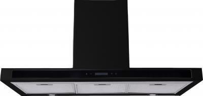 Вытяжка Т-образная Backer CH90E-T1L160 (Shiny Black-Black Glass) - общий вид