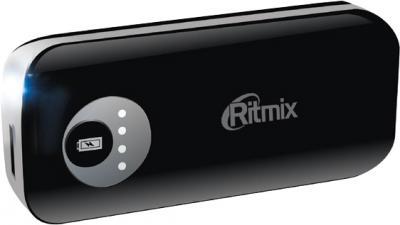 Портативное зарядное устройство Ritmix RPB-4400 (черный) - общий вид