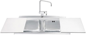 Мойка кухонная Smeg LI92B - общий вид