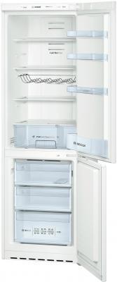 Холодильник с морозильником Bosch KGN36VW10R - вид с открытой дверью