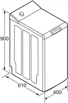 Стиральная машина Bosch WOT24254OE - схема