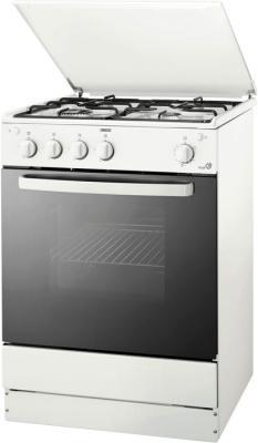 Кухонная плита Zanussi ZCG663GW - общий вид