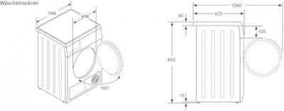 Сушильная машина Siemens WT46B211OE - схема