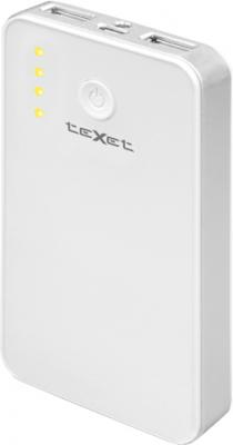Портативный аккумулятор TeXet PowerPack TPB-2112 (White) - общий вид