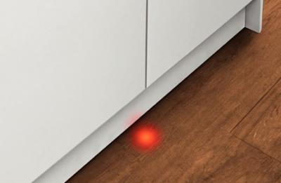 Посудомоечная машина Bosch SPV63M50RU - луч на полу