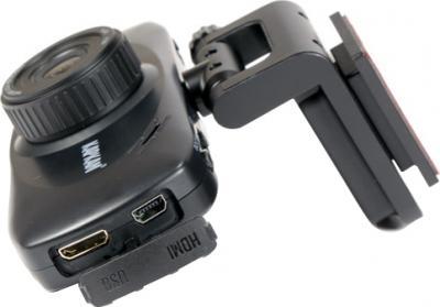 Автомобильный видеорегистратор КАРКАМ QL3 Eco - вид сбоку