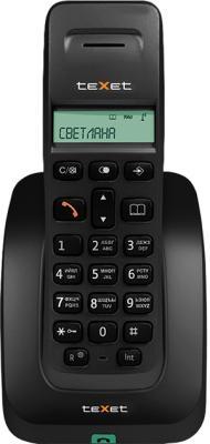 Беспроводной телефон TeXet TX-D5305A (Black) - общий вид