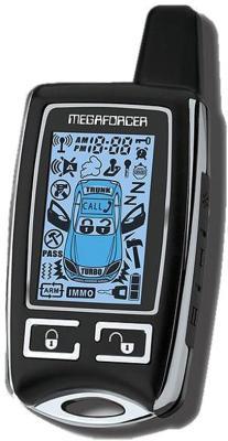 Автосигнализация Megaforcer Mega-2 - брелок