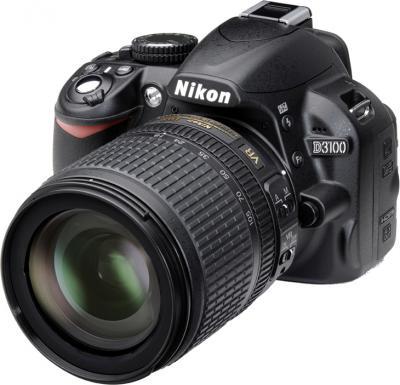 Зеркальный фотоаппарат Nikon D3100 Kit (18-105mm VR) - общий вид