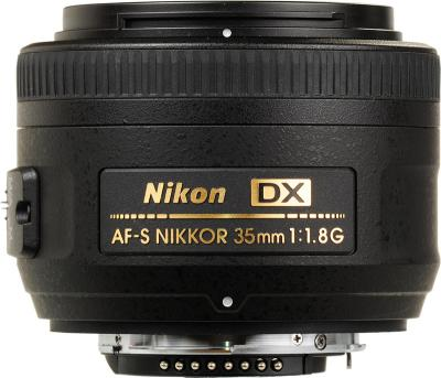 Зеркальный фотоаппарат Nikon D3100 Double Kit (18-55mm VR + 35mm f/1.8G) - 35mmf/1.8G
