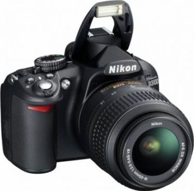 Зеркальный фотоаппарат Nikon D3100 Double Kit (18-55mm VR + 35mm f/1.8G) - общий вид