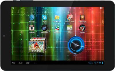 Планшет Prestigio MultiPad 7.0 Ultra Duo 8GB (PMP5870C_DUO) - фронтальный вид