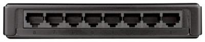 Коммутатор D-Link DGS-1008A - вид сзади