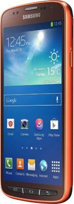 Смартфон Samsung I9295 Galaxy S4 Active (Orange) - боковая панель