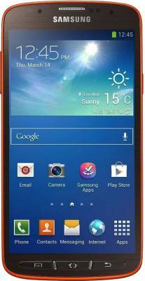 Смартфон Samsung I9295 Galaxy S4 Active (Orange) - общий вид