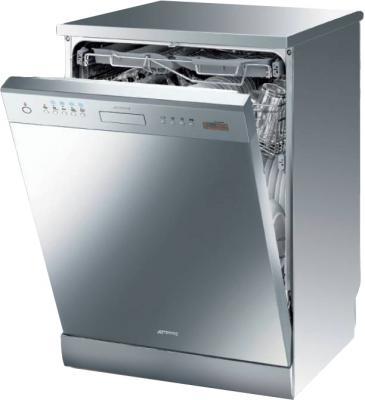 Посудомоечная машина Smeg LP364XS - в открытом виде