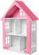 Аксессуар для куклы Столики Детям Кукольный домик ДК-1Р (розовый) -