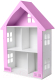 Аксессуар для куклы Столики Детям Кукольный домик ДК-1Ф (сиреневый) -