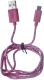 Кабель USB Harper CCH-511 (розовый) -