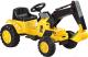 Детский автомобиль Toyz Digger (желтый) -