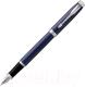 Ручка шариковая/перьевая Parker IM Metal Matte Blue CT 1931647 -